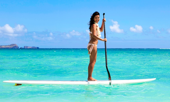 South Florida Paddle - Palm Beach:  for a Two-Hour Standup-Paddleboard Eco Tour for Two from South Florida Paddle LLC ($90 Value)