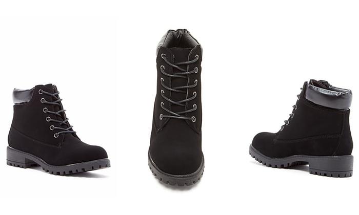 CarriniWomen's Short Work Boots (Size 6)