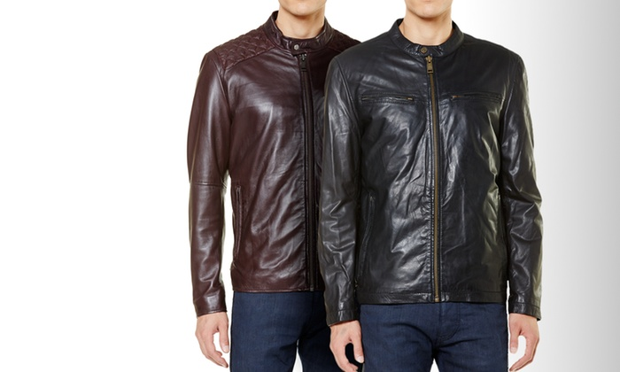 Marc New York: Marc New York Men's Leather Jackets from $279. Multiple Styles Available. Free Shipping and Returns.