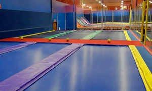 Jumpstreet - Houston: Two Hours of Jump Time and Other Indoor Fun for Two or Four at JumpStreet (Up to 52% Off)