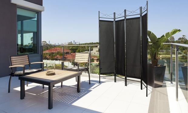 paravent int rieur ext rieur groupon shopping. Black Bedroom Furniture Sets. Home Design Ideas