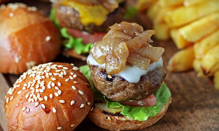 Megabite Cyber Cafe - Parkside: American Food and Drinks for Two or Four at Megabite Cyber Café (Up to 56% Off)