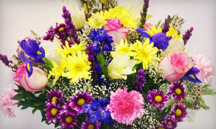 Wholesale & Retail Florist Flowers - Mapleton: $30 for One Assorted Lily Bouquet from Wholesale & Retail Florist Flowers ($60 Value)