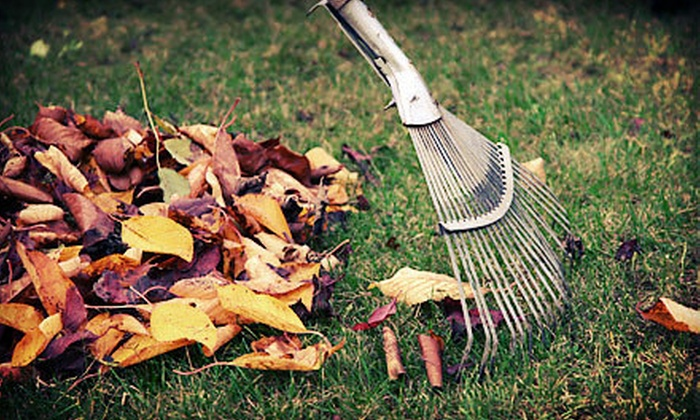 Utah Lawn - Midvale: $69 for a Fall Lawn-Care Package with Aeration and Leaf Cleanup and Hauling from Utah Lawn ($150 Value)
