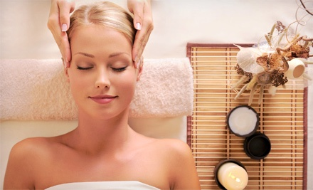 Massage with Facial and Option for Brazilian Wax at Kits Spa (Up to 53% Off)