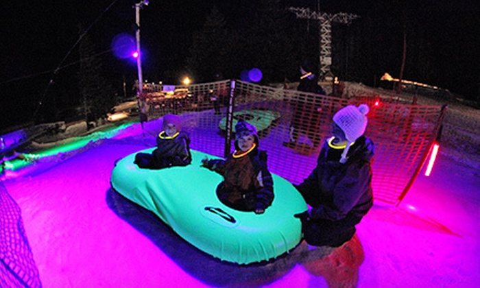 Mt. Hood Skibowl - Mount Hood: $39 for a Cosmic-Snow-Tubing Night for Two at Mt. Hood Skibowl ($78 Value)