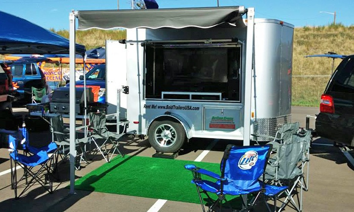 Bold Entertainment Trailer - Denver: $600 for a One-Day Entertainment-Trailer Rental with Games from Bold Entertainment Trailer ($1,200 Value)
