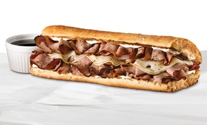 Quiznos: Up to 55% Off Quiznos Sandwiches  at Quiznos