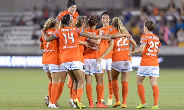Houston Dash vs. Chicago Red Stars - BBVA Compass Stadium: $14 for Ticket to Houston Dash Women's Soccer Match and Optional Meet-and-Greet at BBVA Stadium on May 15 ($24.41 Value)