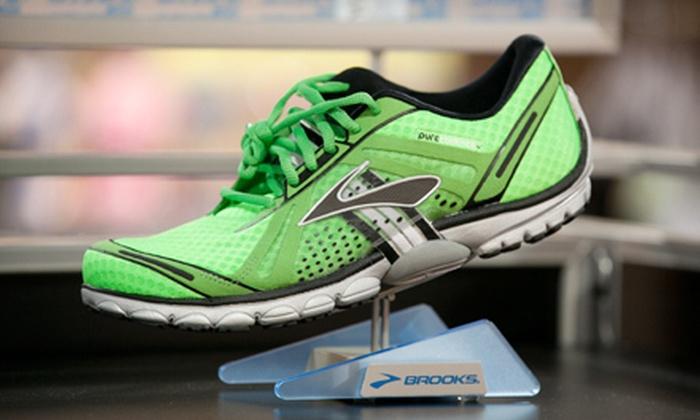 Barrington Running Co - Barrington: $25 for $50 Worth of Running Shoes and Apparel at Barrington Running Co