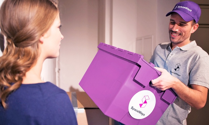 SpaceWays: C$21 for Three Months of Storage with Three Boxes, Pickup, and Return Delivery from SpaceWays (C$81 Value)