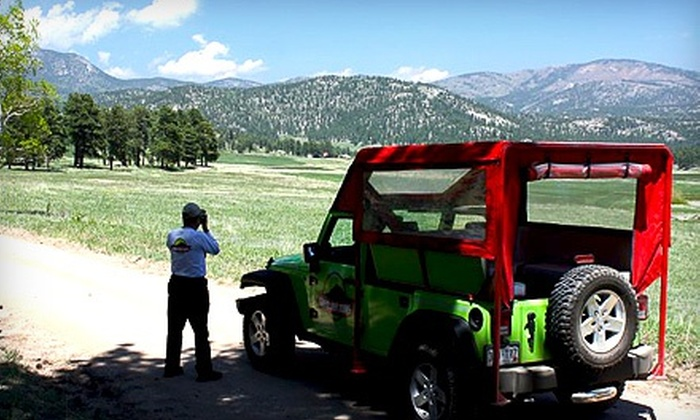 Green Jeep Tours - Estes Park: Rocky Mountain Experience for Two or Four from Green Jeep Tours (Up to 51% Off)