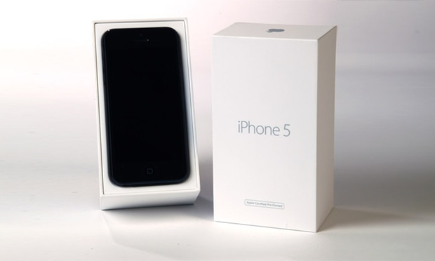 iphone 5 16go reconditionn certifi apple groupon shopping. Black Bedroom Furniture Sets. Home Design Ideas