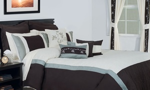 Closeout: Bedroom in a Bag Bedding Set (24- or 25-Piece)