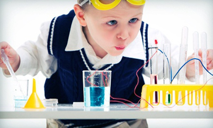 Destination Science - Multiple Locations: Five-Day Kids' Science Camp from Destination Science (54% Off). 12 Options Available.