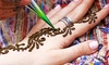 Henna or mani-pedi beauty package