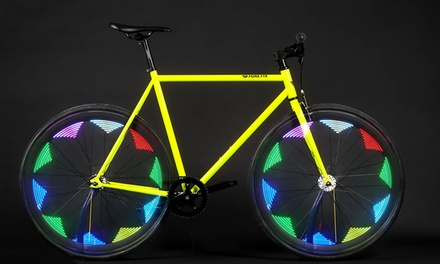 Multicolor LED Motion-Activated Bike Tire Lights from $8.99–$12.99