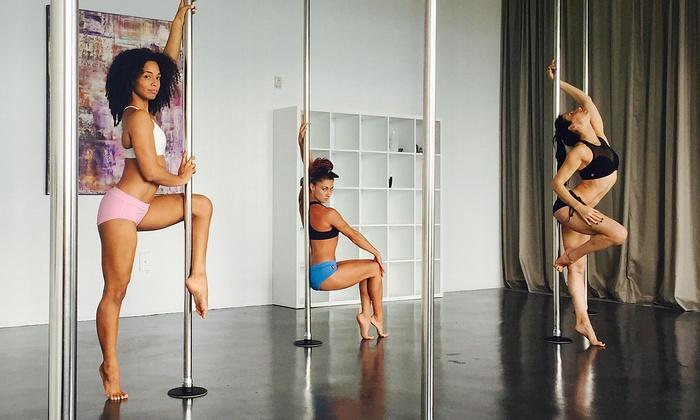 Milan Pole Dance Studio - Miami - Downtown Miami: $49 for Five Pole-Dancing Classes at Milan Pole Dance Studio ($125 Value)