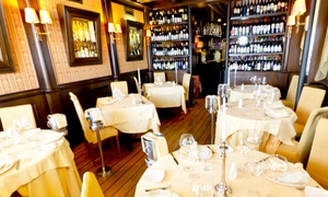 Le Perlage: Le Perlage, segnalato Michelin - Menu gourmet di pesce o di crudi con calice di vino o bottiglia di champagne
