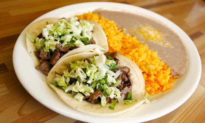 Taqueria Sofia Mexican Restaurant - Bushwick: Mexican Dinner for Two or Four at Taqueria Sofia Mexican Restaurant (50% Off)