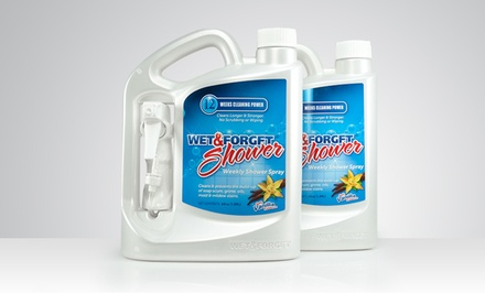 2-Pack of 64 Fl. Oz. Wet & Forget Weekly Shower Spray. Free Returns.