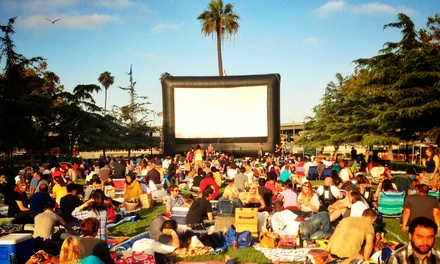 Tickets for Two or Four or Season Pass for One or Two to Street Food Cinema (Up to 55% Off)