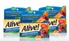 Alive! Men's Energy Multivitamin (3-Pack): Alive! Men's Energy Multivitamin; 3-Pack of 50 ct. Bottles + 5% Back in Groupon Bucks
