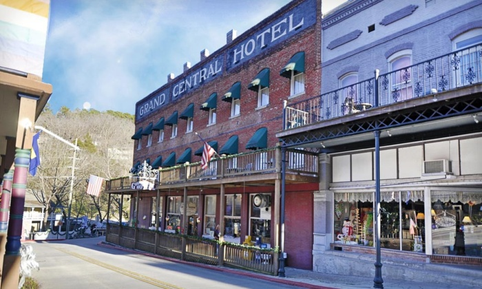 Grand Central Hotel and Spa - Eureka Springs, AR: Stay with Spa and Dining Credits at Grand Central Hotel and Spa in Eureka Springs, AR. Dates Available into February.