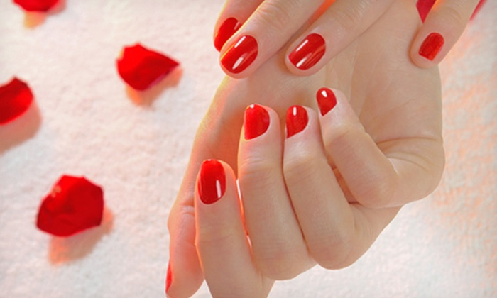 Christy's NAILS - Brookside Woods: $19 for a Deluxe Shellac or Gel Manicure at Christy's NAILS ($40 Value)
