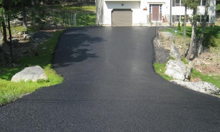 Testa Paving: $165 for Driveway Seal Coating up to 1,000 sq. ft. from Testa Paving ($250 Value)
