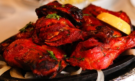 Indian, Pakistani, and Middle Eastern Food at Sindbaad Restaurant (Up to 50% Off). Three Options Available