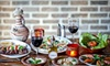 Balade - East Village: Mediterranean Meal for Two or Four with Appetizers, Entrees, and Wine at Balade (Up to 64% Off). Four Options Available.