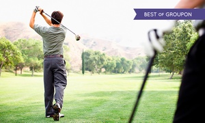 Shoal Creek Golf: 18 Holes of Golf with Cart and Range Balls for Two or Four at Shoal Creek Golf Course (Up to 44% Off)
