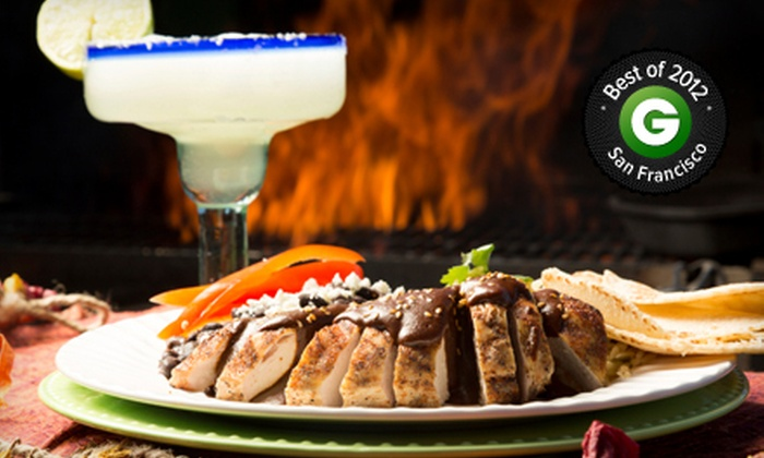 Andalu - Mission Dolores: $98 for a Four-Course, Eight-Plate Tasting Meal for Two with Tequila Pairings at Andalu ($160 Value)