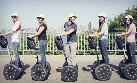 75-Minute Segway Tour of West Seattle or Two-Hour Tour of Downtown from West Coast Entertainment (Up to 61% Off)