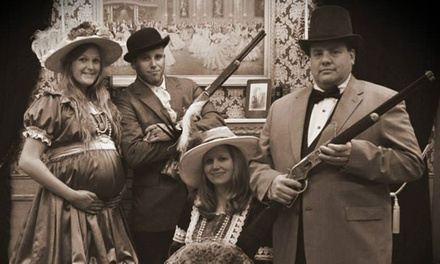 "$9 for Photo Shoot for up to 10 with Sitting Fee & 8""x10"" Print at Buster's Old Time Photos ($70 Value)"