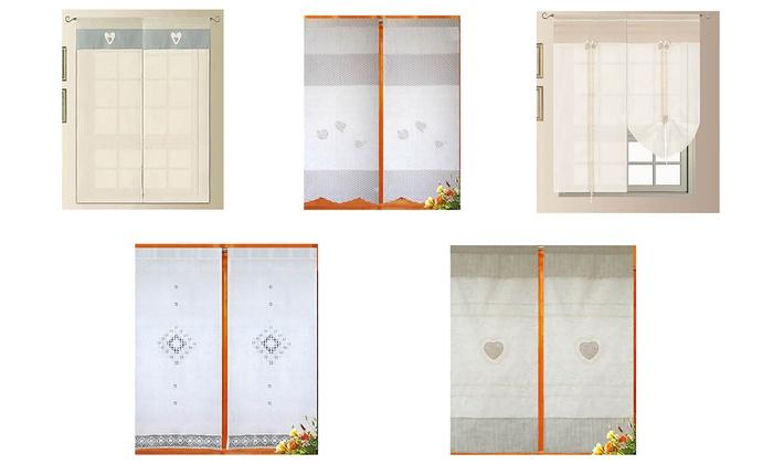 Coppia di tende per finestra groupon goods - Tendine a finestra ...