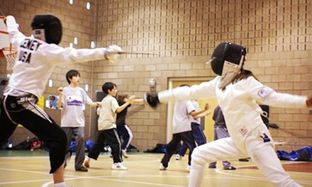Four Weeks of Fencing Lessons at Front Range Fencing Club (50% Off)
