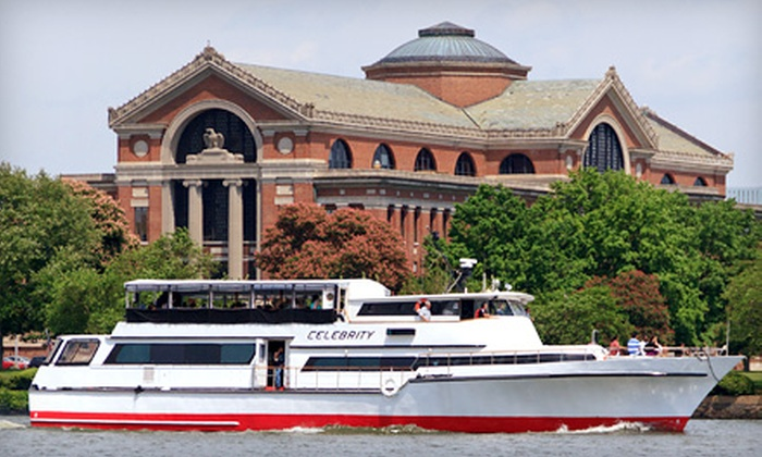 Capital Yacht Charters - Southwest Washington DC: River and Wine Rendezvous Cruise with Drinks for One or Two from Capital Yacht Charters (53% Off)