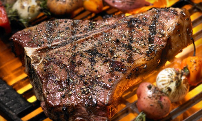 The Edge of Texas Steakhouse and Saloon - El Paso: $12 for $24 Worth of Steaks, Barbecue, and Nonalcoholic Beverages at The Edge of Texas Steakhouse and Saloon