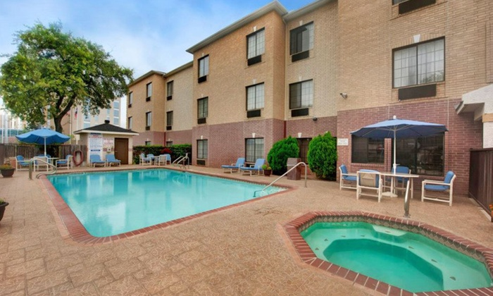 null - San Antonio: Stay at Best Western Plus Hill Country Suites in San Antonio, TX. Dates Available into December.