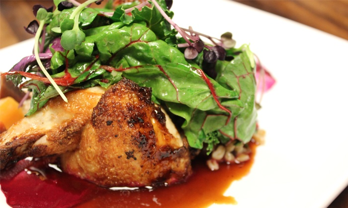 Dolce - Northwest Omaha: Seasonal American Cuisine for Two or Four at Dolce (Up to 39% Off)