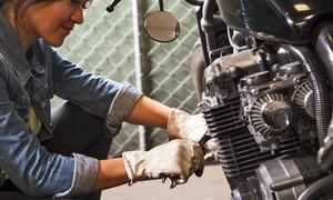TESONE MOTORS: Tagliando scootero moto con sostituzione olio e filtro, pulizia filtro e controllo da Tesone Motors (sconto fino a 79%)