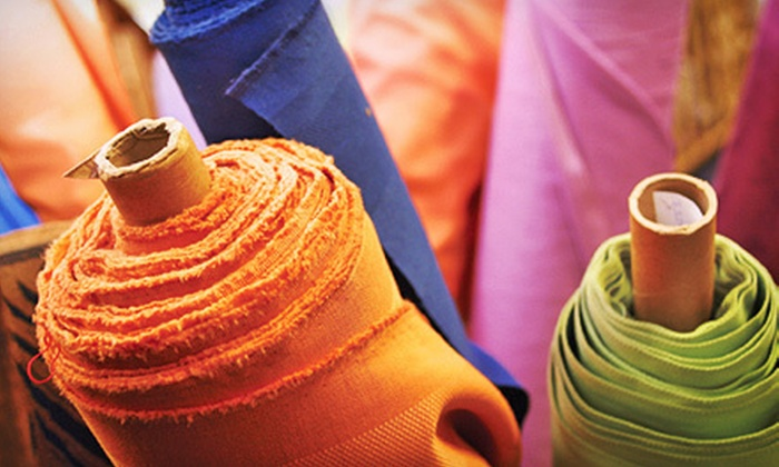Fabric Place Basement - Natick: Fabric and Sewing Notions at Fabric Place Basement (Up to 52% Off). Two Options Available.