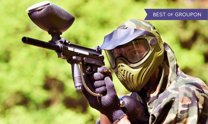 SplatterPark - Columbus: Paintball Package with Gear and Lunch for Two or Four at SplatterPark (Up to 50%  Off)
