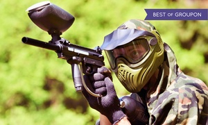 SplatterPark: Paintball Package with Gear and Lunch for Two or Four at SplatterPark (Up to 50%  Off)