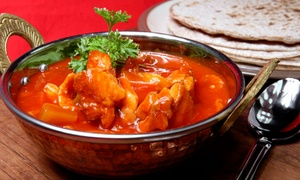 Bombay Bar & Grill: Indian Cuisine at Bombay Bar & Grill (48% Off). Two Options Available.