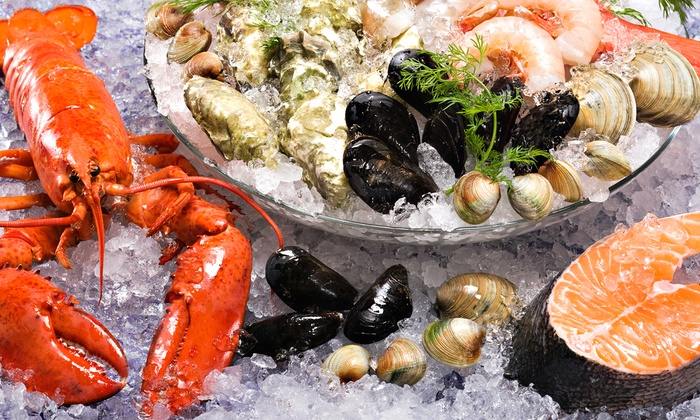 Sea Fish Market and Grill - Latham: $15 for $30 Worth of Fresh Seafood at Sea Fish Market and Grill