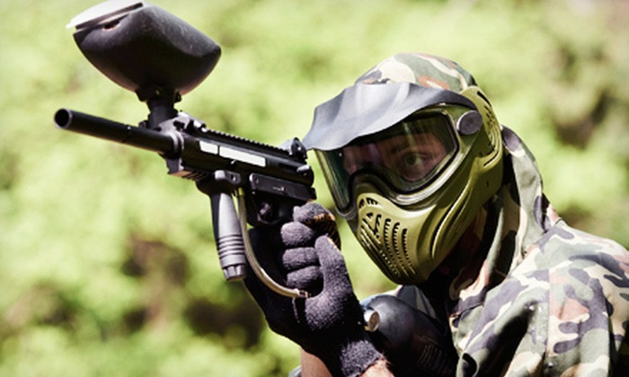 Frog Holler Paintball - Derby: All-Day Paintball Outing for Two, Four, or Eight with Air, Gear, and Paintballs at Frog Holler Paintball (Up to 57% Off)