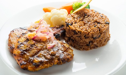Prix Fixe Puerto Rican Meal for Two at Don Coqui Astoria (Up to 50% Off). Two Options Available.